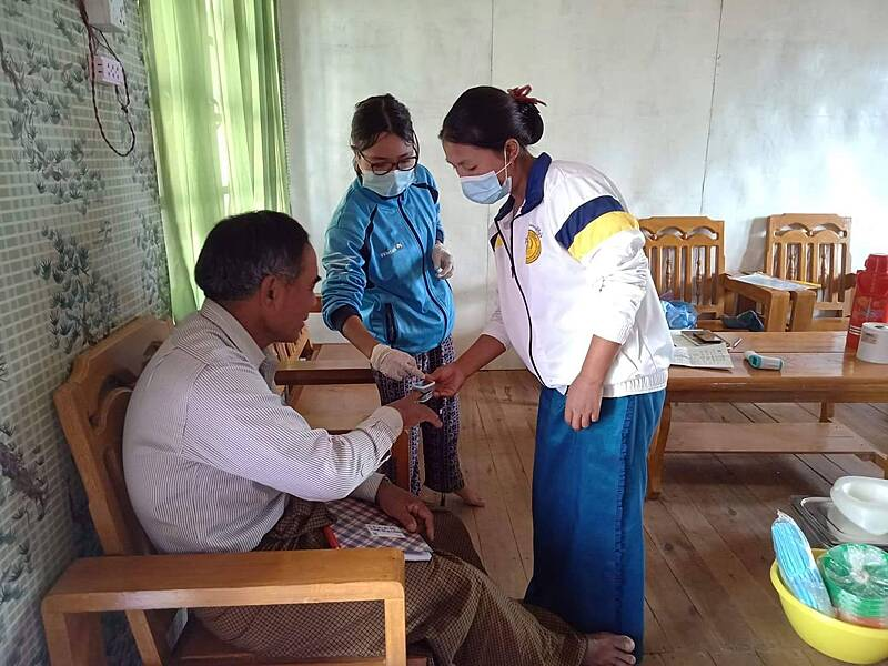 Training government health workers
