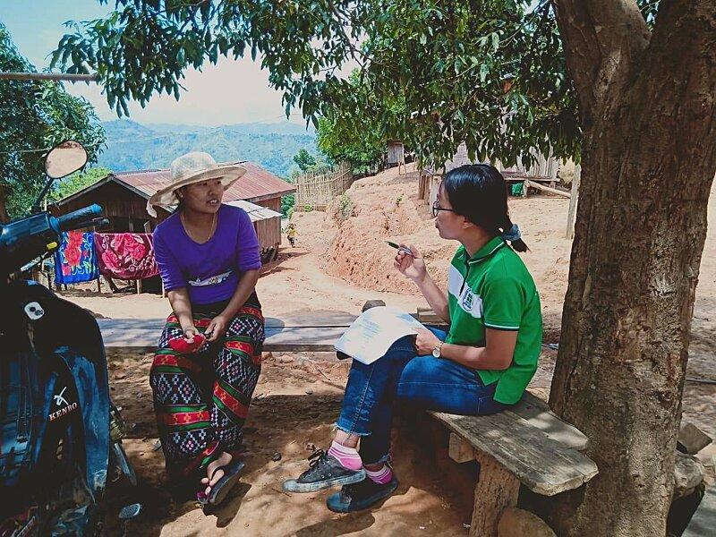 Conducting village surveys