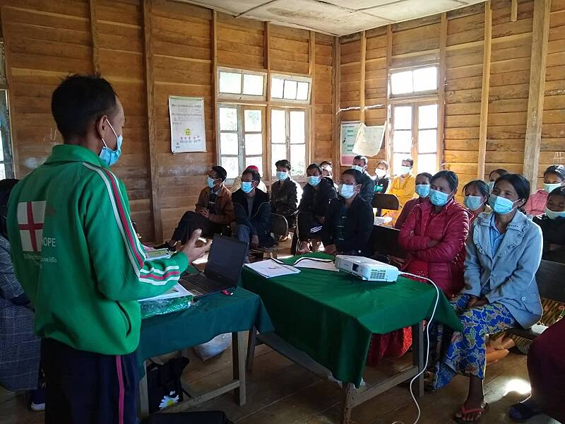 Health education training workshop
