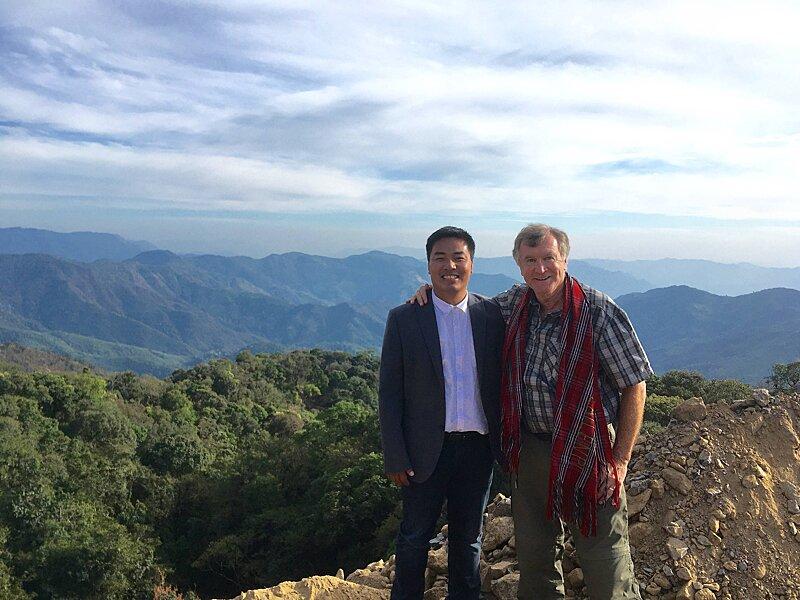 Dr Sasa & Dr Nick - Lailenpi, Feb 2020