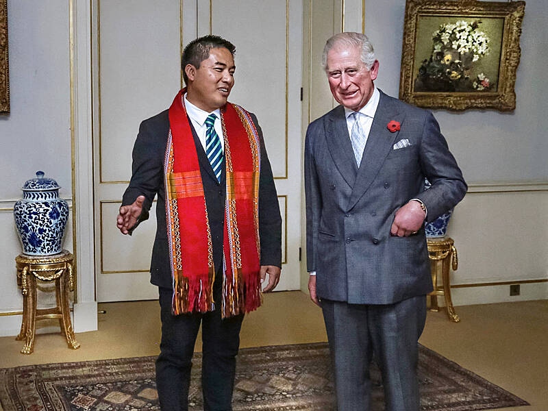Dr Sasa meets with HRH The Prince of Wales - Health & Hope